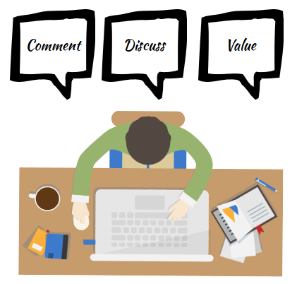 Kommentieren, Diskutieren, Bewerten