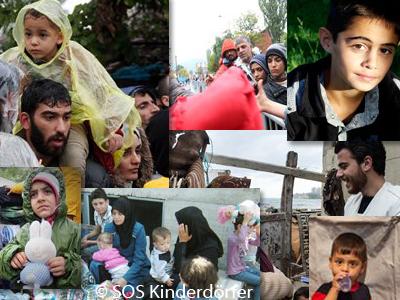 SOS Kinderdorf - Kinder und Flüchtlinge in Syrien, Serbien und Mazedonien