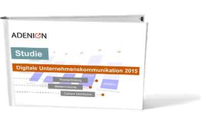 Studie digitale Unternehmenskommunikation