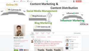 Online Marketing Profil Melanie Tamble Twitter