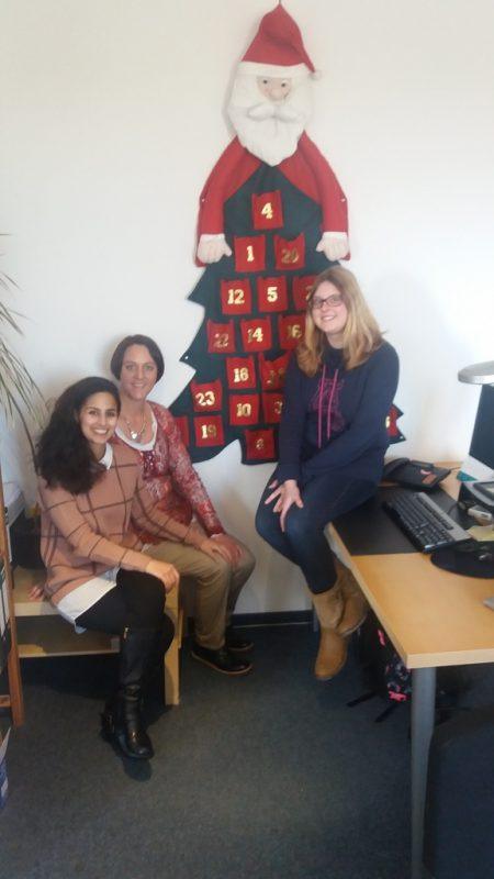 Unser Team von der Verwaltung wünscht frohe Weihnachten