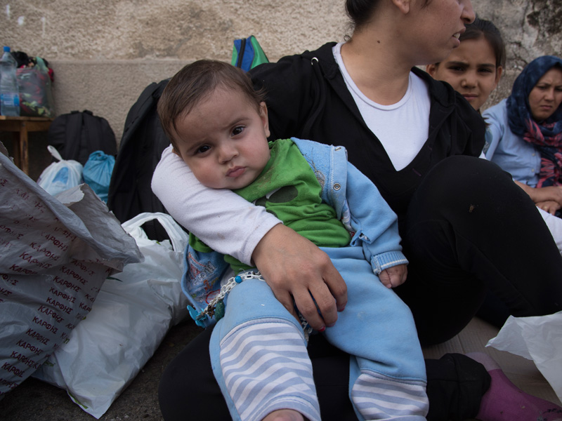 Fluechtlinge_Mazedonien. Foto: Katerina Ilievska