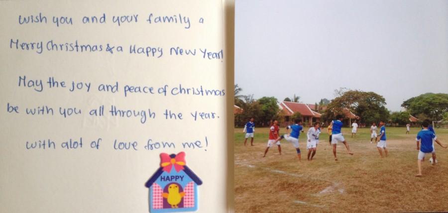 SOS Kinderdörfer weltweit: Grußkarte aus Angkor Siem Reap, Kambodscha