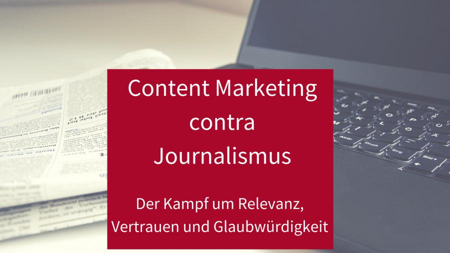 Content Marketing contra Journalismus