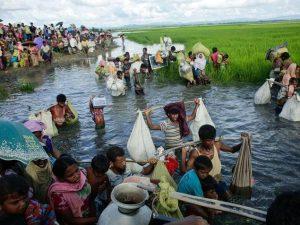 Rohingya Flüchtlinge in Bangladesch Foto: Abir Abdullah / European Pressphoto-Agency