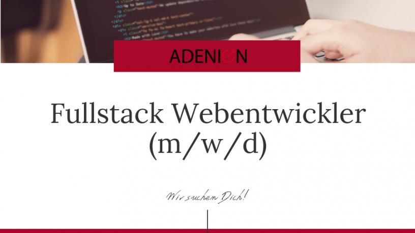 Fullstack Webentwickler