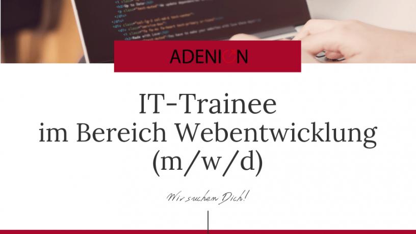 Trainee Webentwicklung