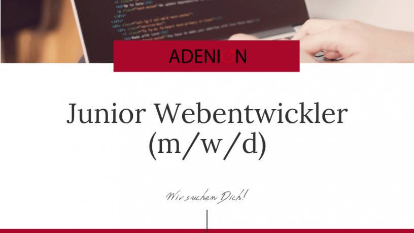 Junior Webentwickler