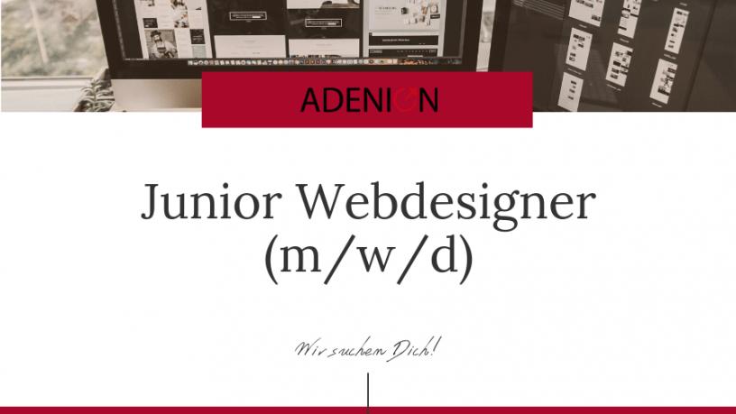 Junior Webdesigner